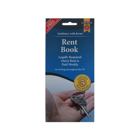 Lawpack Rent Book England, Wales & Scotland 5 Pack