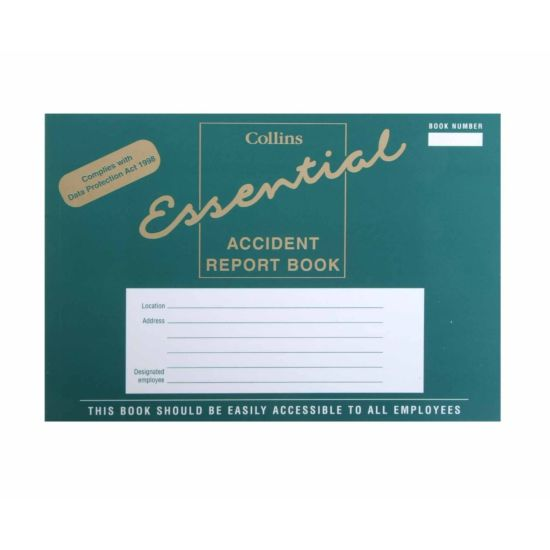 Collins Accident Report Book