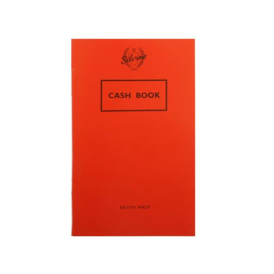 Silvine Cash Book 042C 158x99mm 75 gsm 72 Pages 36 Sheets
