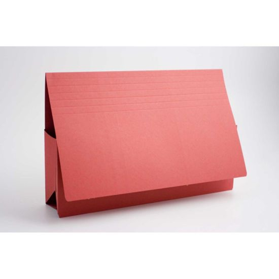 Probate Wallets Foolscap Pack of 25 Red