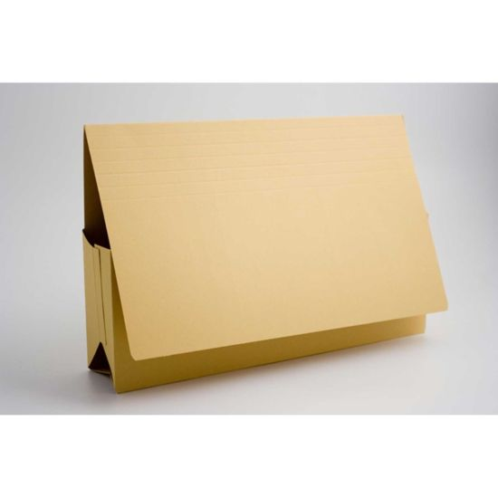 Probate Wallets Foolscap Pack of 25 Yellow