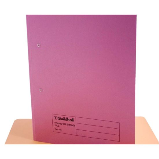 Transfer Spiral File Foolscap Pack of 50