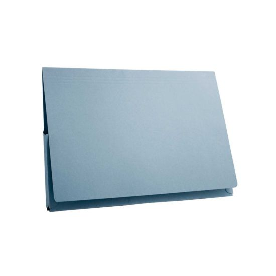 Pocket Wallets 14x10' Brief Pack of 50 Blue