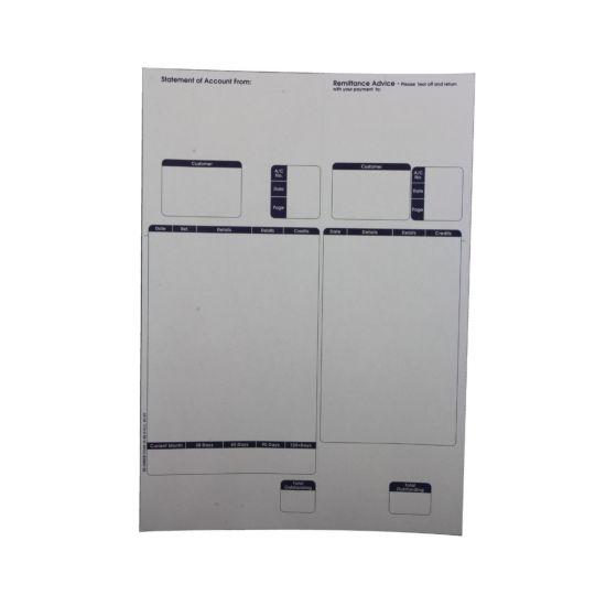 Custom Form Sage Compatible Sales Ledger for Laser Printers A4 Pack of 500