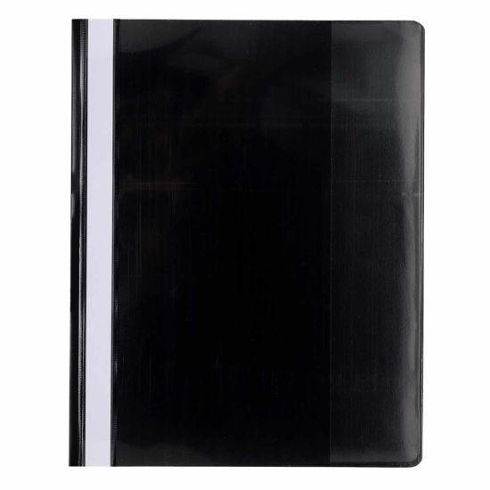 Exacompta Flat Bar Folder A4 Plus Pack of 10 Black