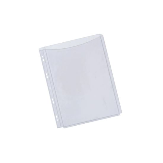 Q-Connect A4 Expanding Pocket Full Cover 20mm Pack of 5