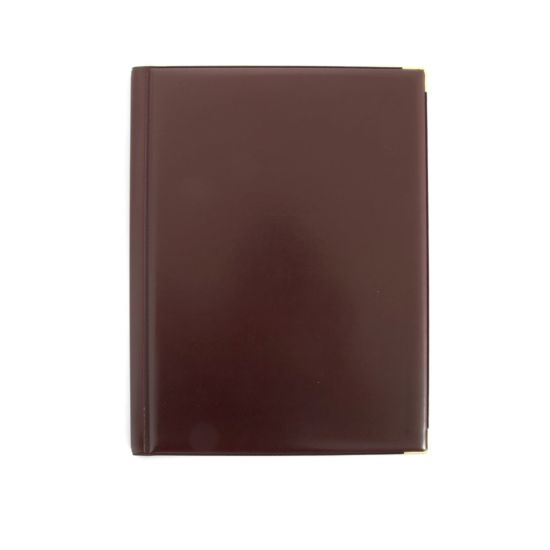 Ryman Deluxe Display Book A4 12 Pockets Burgundy
