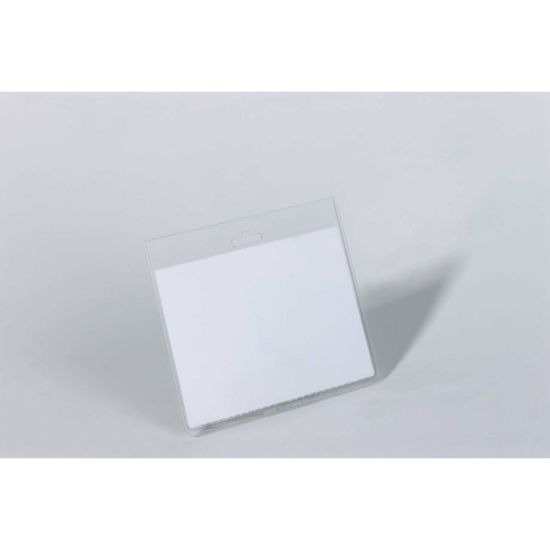 Durable Security Badge Without Clip Landscape Name 60x90mm