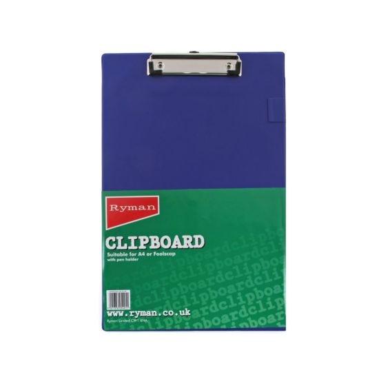 Ryman Clipboard Foolscap PVC