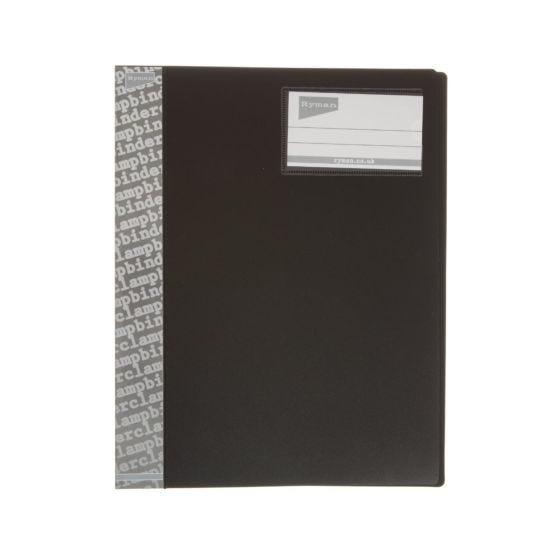 Ryman Clamp Binder A4 Black
