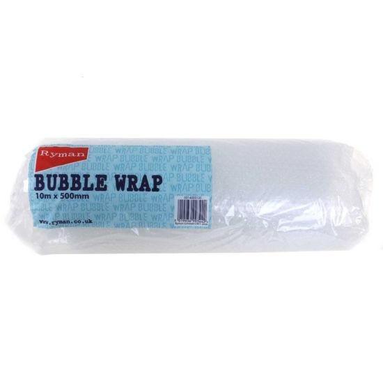 Ryman Bubble Wrap 500mmx10m Pack of 8 Clear