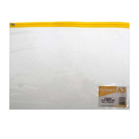 Ryman Zip Bag A3 Pack of 5