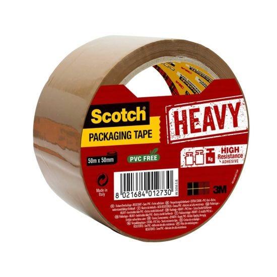 Scotch Heavy Duty Packaging Tape Buff 50mm x 50m