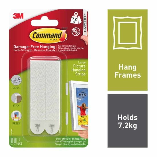 Command Picture Hanging Strips Large