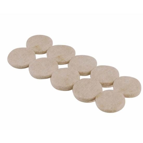 Floor Felt Protection Pads Small Pack of 10