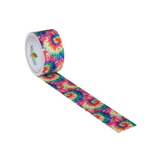 Duck Tape Tie Dye Explosion