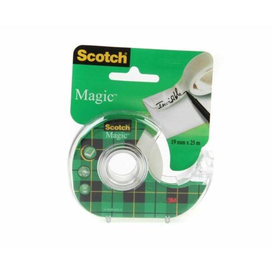 3M Scotch Magic Tape 19mm x 25m with Dispenser