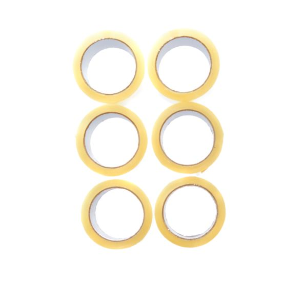 Clear Easy Tear Tape 48mm x 66m Pack of 6