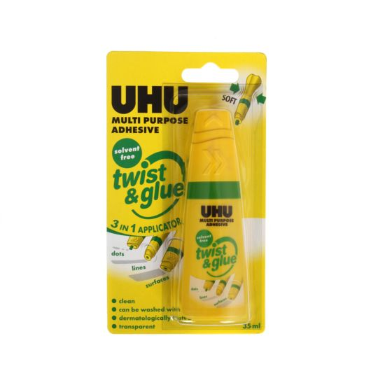 UHU Twist & Glue Solvent Free 35ml Blister