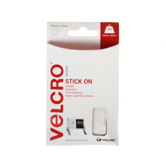 VELCRO Brand Stick on Tape 20mm x 50cm