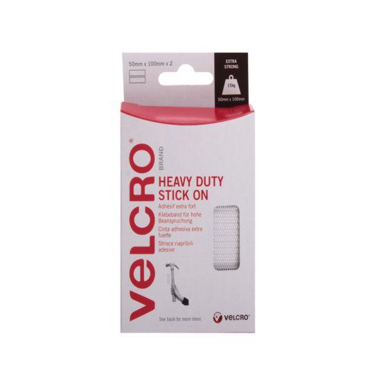 VELCRO Brand Hook and Loop Heavy Duty Strips 50mmx100mm