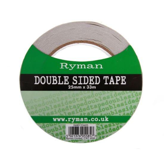 Ryman Double Sided Tape 25mmx30m