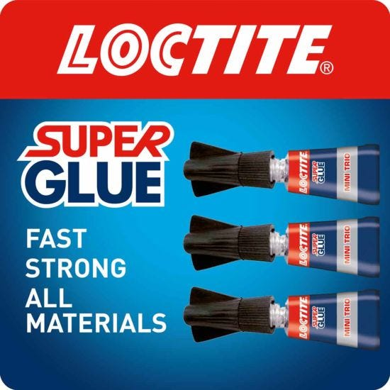Loctite Super Glue Mini Trio 1g Pack of 3