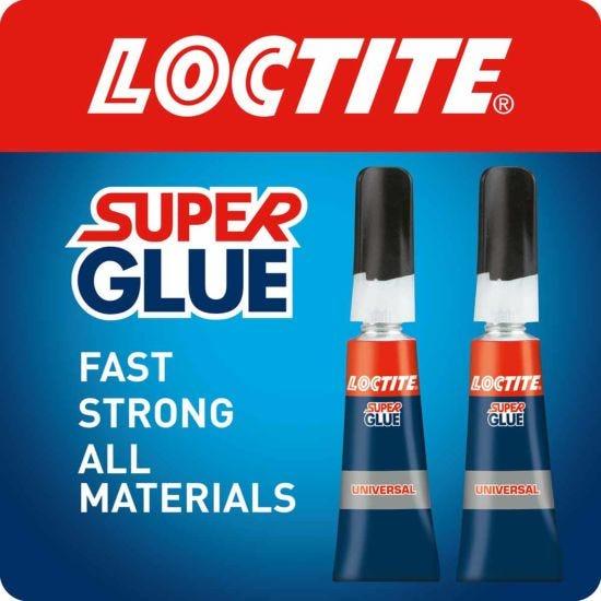Loctite Super Glue Universal 3g Pack of 2