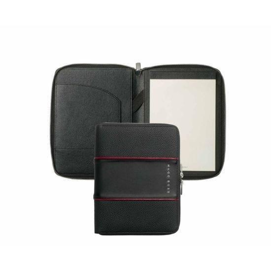 Hugo Boss Gear Conference Folder A5 Black
