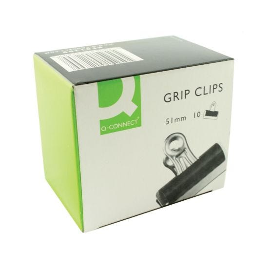 Q-Connect Grip Clip 51mm Pack of 10