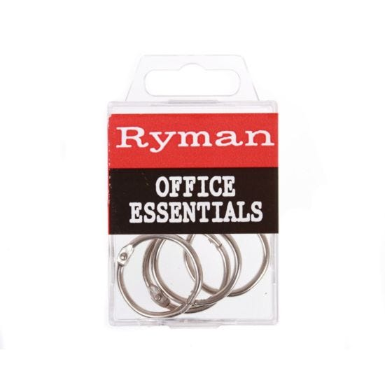 Binding Rings 25mm Pack of 4