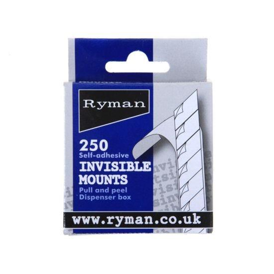 Ryman Self Adhesive Invisible Photograph Mounts
