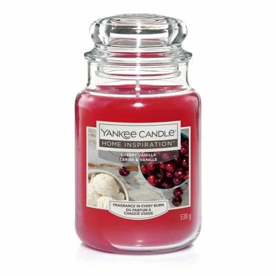 Yankee Candle Home Inspiration Large Jar Cherry Vanilla