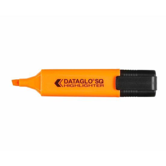 Dataglo SQ Highlighter Pack of 10 Orange