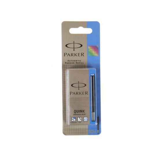 Parker Ink Cartridge Pack of 10 Blue