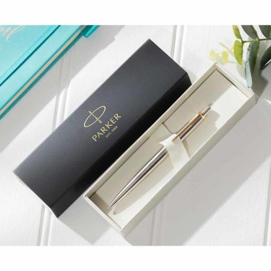 Personalised Engraved Parker Jotter Stainless Steel Chrome Trim Gel Pen