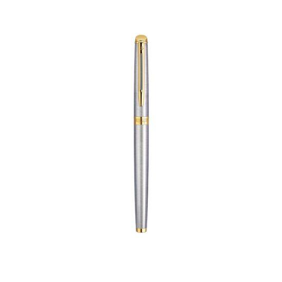 Waterman Hemisphere Stainless Steel Gold Tip Fountain Pen