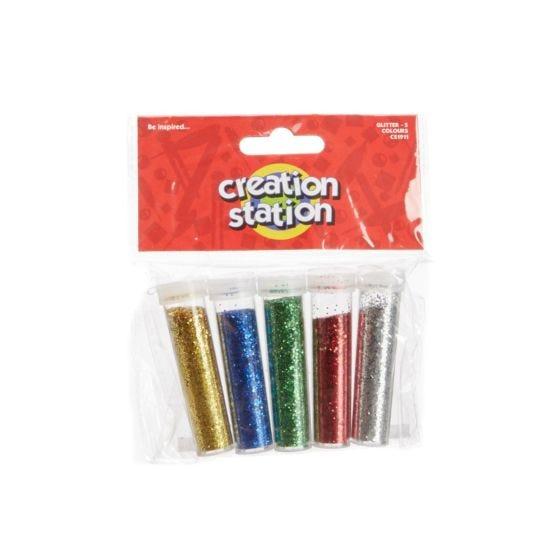 Ryman Activity Kit Glitter Pack of 5