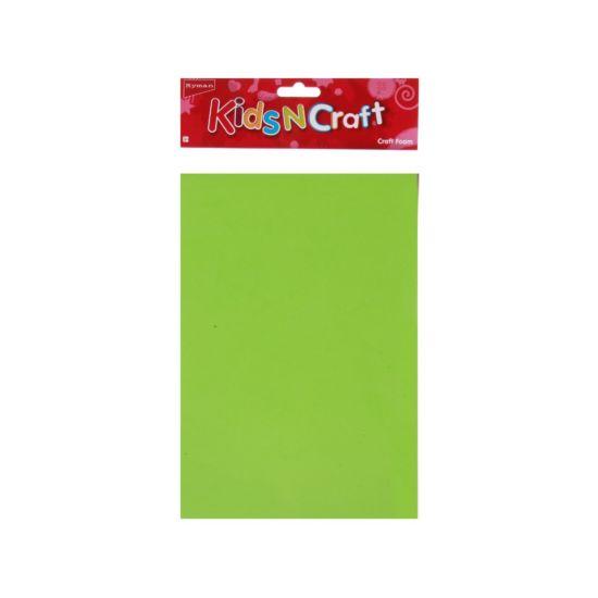 Ryman Activity Kit Craft Foam Sheets A4 Assorted