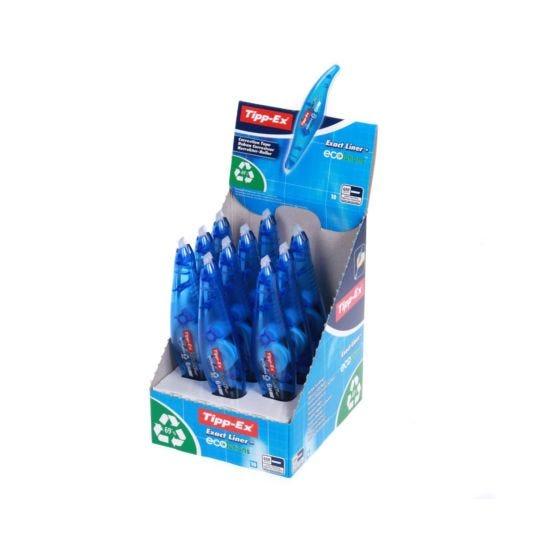 Tipp-ex Ecolutions Exact Liner Pack of 10