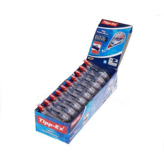 Tipp-ex Mini Pocket Mouse Pack of 10