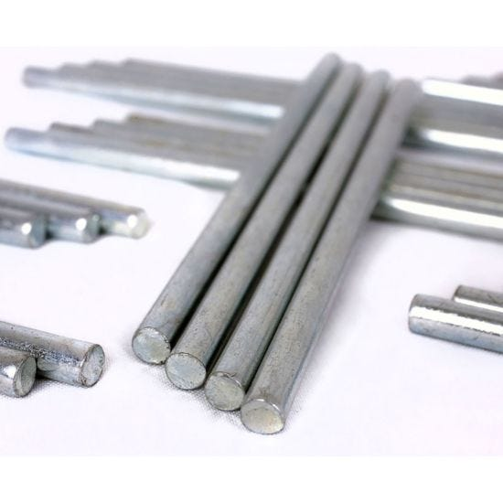 Deflecto Metal Stacking Risers 60mm Pack of 4
