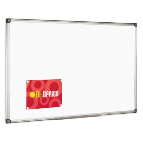 Metroplan Magnetic Drywipe Board 1200x900mm Aluminium