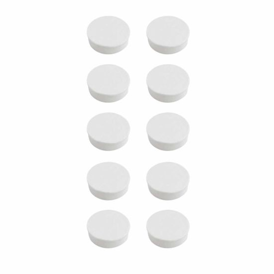 Bi-Office Antimicrobial 25mm Magnets Pack of 10