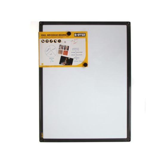 Bi-Silque Magnetic Whiteboard 600x450mm Frame