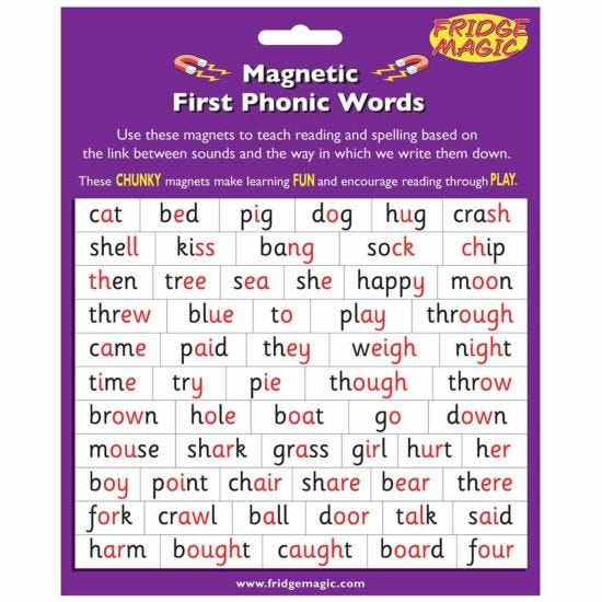 Magnetic First Phonic Words Key Stage 1