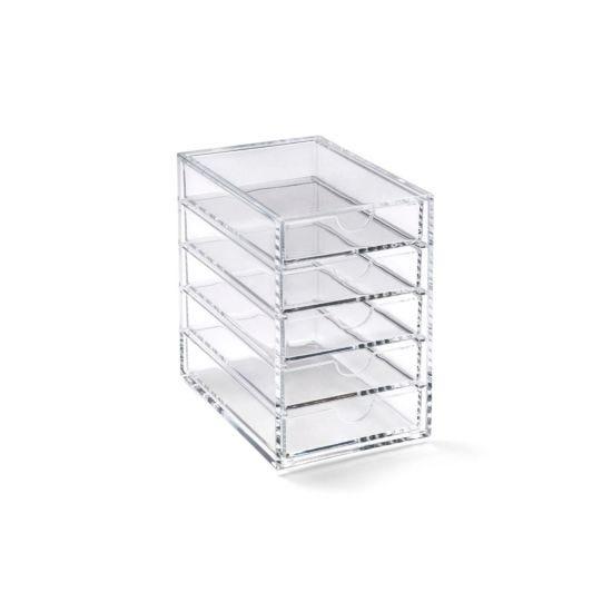 Acrylic 5 Drawer Storage Box