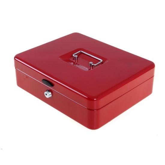 Ryman Button Release Cash Box H85xW295xD230mm Red