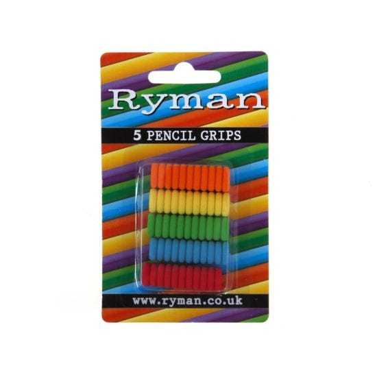 Ryman Pencil Grips Pack of 5