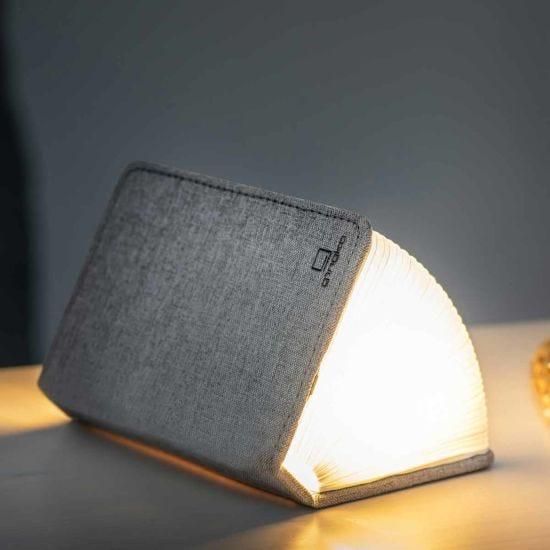 Gingko Mini Linen Smart Book Light Grey
